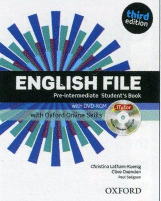 Oxford ENGLISH FILE THIRD EDITION (фото, вид 1)