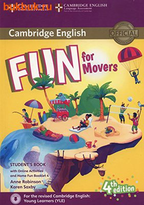 CAMBRIDGE FUN FOR STARTERS, MOVERS AND FLYERS 4 TH EDITION (фото, вид 1)