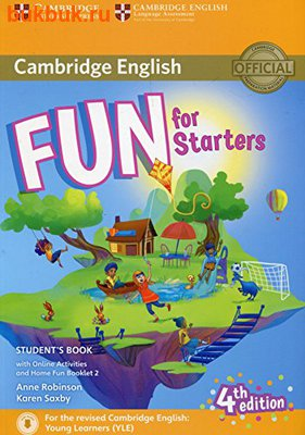 CAMBRIDGE FUN FOR STARTERS, MOVERS AND FLYERS 4 TH EDITION (фото, вид 2)