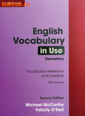 CAMBRIDGE ENGLISH VOCABULARY IN USE SECOND EDITION
