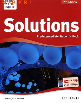 Oxford SOLUTIONS 2ND EDITION (фото)