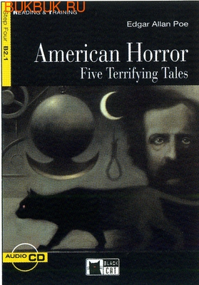 BLACK CAT - CIDEB AMERICAN HORROR FIVE TERRIFYING TALES