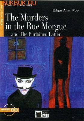 BLACK CAT - CIDEB THE MURDERS IN THE RUE MORGUE AND THE PURLOINED LETTER