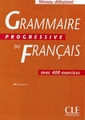 CLE INTERNATIONAL GRAMMAIRE PROGRESSIVE DU FRANCAIS