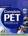 CAMBRIDGE COMPLETE PET