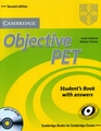 CAMBRIDGE OBJECTIVE PET SECOND EDITION