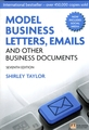 PEARSON-LONGMAN MODEL BUSINESS LETTERS, EMAILS AND OTHER BUSINESS DOCUMENTS