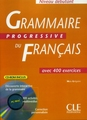 CLE INTERNATIONAL GRAMMAIRE PROGRESSIVE DU FRANCAIS/CD-ROM