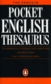 PENGUIN POCKET ENGLISH THESAURUS